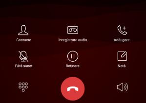meniu apel android Viper V2 I4G