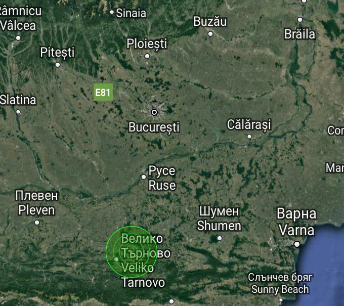 cutremur Bulgaria 3-4 ianuarie 2017