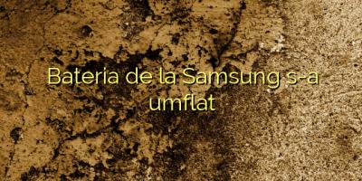 Bateria de la Samsung s-a umflat