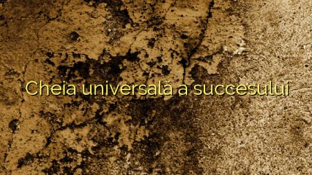 Cheia universală a succesului