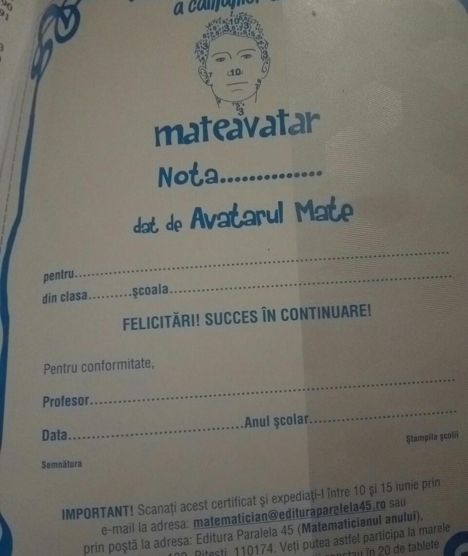 Matevatar - Promoție inutilă