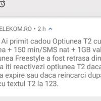 Cadou cu tâlc la cartela Telekom